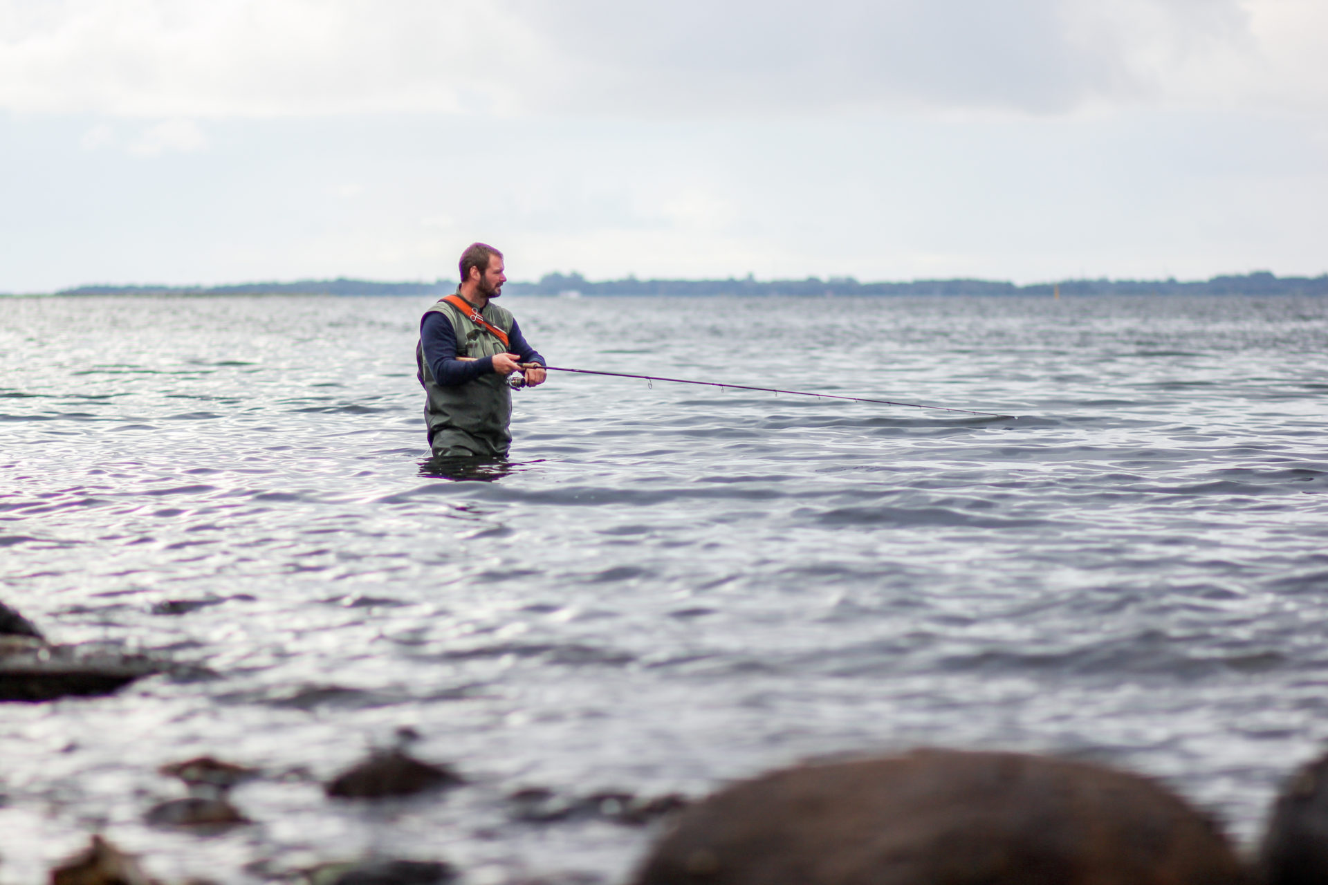 Der er regler for lystfiskeri i Limfjorden. Læs om dem her.